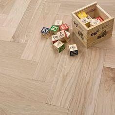 **Clearance** Engineered Herringbone Parquet Flooring Oak x Unfinished Oak - Engineered Wood from Discount Flooring Depot UK Flooring Cost, Luxury Flooring, Flooring Sale, Solid Wood Flooring, Engineered Wood Floors, Parquet Flooring, Flooring Ideas, Cottage Extension, Home