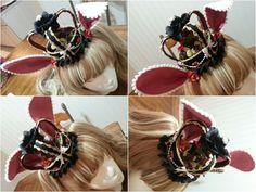 Custom Crown with Rabbit Ears by NoFlutter.deviantart.com on @deviantART