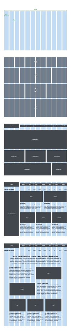 Wireframe Effectively on the New, Improved 970 Grid System Page layout is an important aspect of web design. A popular approach to designing page layouts is to use a grid system...