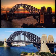 From night to day....still just as beautiful. Million dollar view - so grateful. #ilovesydney #sydneyharbourbridge #sydneyharbour by seedyontour http://ift.tt/1NRMbNv