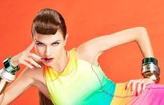 Nail It Mag - Color Blocking by Bonnie Holland, via Behance