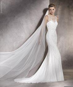 86e37dd48184 Pronovias Ashley Size 14 - Mia Sposa Bridal Boutique Embellished Wedding  Gowns