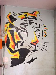 So schön kann Klebeband sein - Tape Art Workshop der hKDM in Freiburg Tape Art, Moose Art, Workshop, Painting, Animals, Duct Tape, Freiburg, Nice Asses, Animales