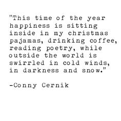 Conny Cernik Quotes Poetry Christmas Winter