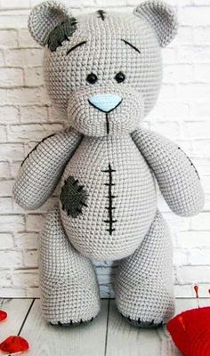 44 Awesome Crochet Amigurumi Patterns For You Kids for 2019 Part amigurumi for beginners; amigurumi for kids; amigurumi animals Source by Crochet Pattern Free, Crochet Teddy Bear Pattern, Crochet Animal Patterns, Crochet Patterns Amigurumi, Stuffed Animal Patterns, Crochet Dolls, Knitting Patterns, Knitting Toys, Amigurumi Doll