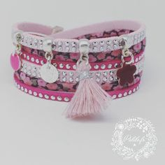 "Bracelet Multirangs en Liberty ""My Bright Star"" by Palilo Bijoux"