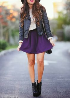 I don't much care for the shoes, but the rest of the outfit is super adorable. -Frannie