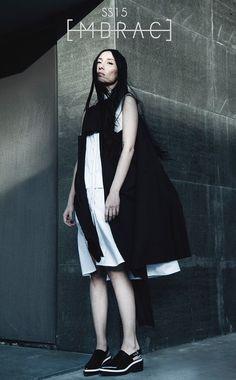 Embrace SS15, #campaign #embracebrand #ss15 #lookbook #black #white #womenswear #design