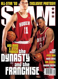 69. Yao Ming *11 y Steve Francis *3 - Houston
