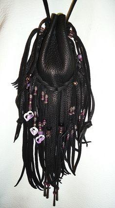 Medicine Bag by LeatherBagLady, via Flickr