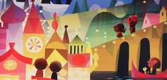 Small World Celebration (partial), Joey Chou | It's a Small World: Exhibit & Artist Signing