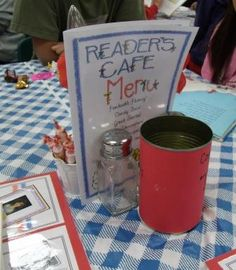 2nd Grade Smarty-Arties taught by the Groovy Grandma!: Reader's Cafe 2013