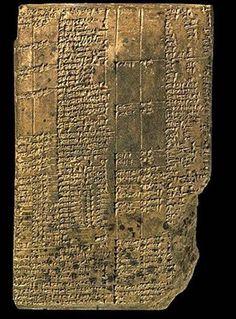 La escritura cuneiforme apareció en Mesopotamia lrededor del 3200 a.C. #escritura #Mespotamia