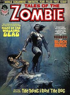 There's a lot of cool 60's and 70's monster, vampire, and zombie comic covers.
