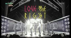 EXO_Comeback Stage 'LOVE ME RIGHT'_KBS MUSIC BANK_2015.06.05