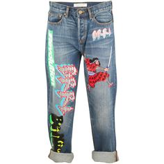 Marc by Marc Jacobs Annie Patches Boyfriend Jean and other apparel, accessories and trends. Browse and shop 8 related looks.