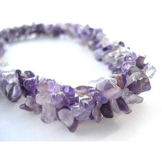 Amethyst Multi Strand Modern Statement Necklace Purple Necklace... ($43) ❤ liked on Polyvore featuring jewelry, necklaces, purple jewelry, purple amethyst necklace, multi row necklace, amethyst necklace and bib statement necklace