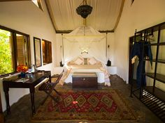 "La chambre ""Shirazi"" au Kinasi Lodge | Mafia island, Tanzania #tanzania #mafia"