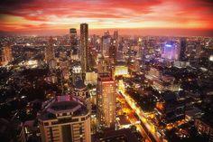 #Amazing #Asian #Sunset #Cityscapes #Bangkok #Thailand #Conrad #Properties   www.conradproperties.asia