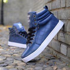 Autumn Winter Cool Hip-hop Style Men Ankle Boots