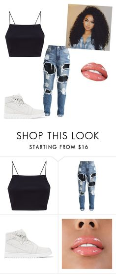 """plain"" by only1panaeja on Polyvore featuring beauty and NIKE"