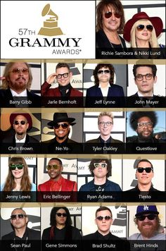 Spexy 'n' Shady Styles Spotted at the Grammys: http://eyecessorizeblog.com/2015/02/spexy-n-shady-styles-spotted-grammys/