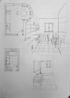 Innenraum - Vlad Bucur - Hints for Women Croquis Architecture, Interior Architecture Drawing, Architecture Concept Drawings, Drawing Interior, Architecture Sketchbook, Interior Design Sketches, Architecture Design, Classical Architecture, Landscape Architecture