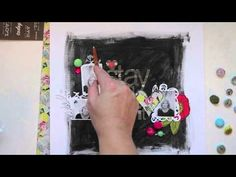 ~~In the mood to scrap: With Wilna Furstenberg    (cool chalkboard effect)