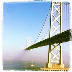 Bay Bridge Eye Candy: Fog+Clouds   7x7