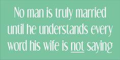 Stencil funny marriage wedding man wife husband by oklahomastencil