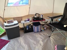 Bell Tent simple kitchen area Camping Essentials, Camping Hacks, Camping Stuff, Camping Must Haves, Bell Tent, Best Memories, Tent Camping, Lodges, Simple