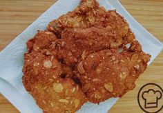 Diós rántott csirkecomb Pork, Meat, Dios, Kale Stir Fry, Pork Chops