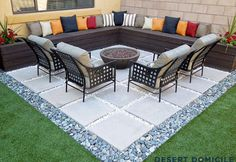 Home Depot Patio Style Challenge Reveal Backyard Patio Designs Patio Design Ideas The Home Depot Patio Design Ideas The Home Depot Patio Design Ideas The Home Depot Low Maintenance Backyard Design Ideas The Home Depot How To Build A Simple. Backyard Patio Designs, Diy Patio, Budget Patio, Small Patio Design, Paved Backyard Ideas, Diy Terrasse, Small Terrace, Fire Pit Backyard, Backyard Pavers