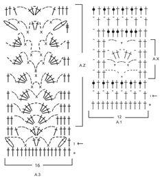 Jupe DROPS au crochet, en brides et point ajouré, crochetée de haut en bas (top down), en Safran. Du S au XXXL. Modèle gratuit de DROPS Design.