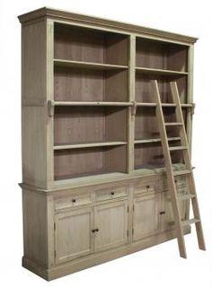 The Westbury Bookcase. A Block and Chisel Product.  www.blockandchisel.co.za