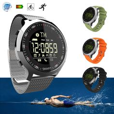 EX18*5ATM Waterproof Smart Watch Pedometer Fitness Tracker for IOS