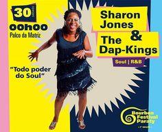 Conheça a Programação do Bourbon Jazz Festival 2015.  Sharon Jones & the Dap-Kings  A Explosiva cantora de Soul e R&B volta ao Brasil e lança seu novo disco: Give The People What They Want, acompanhada pela fantástica The Dap-Kings, a banda que impulsionou a carreira de Amy Winehouse.  #BourbonFestivalParaty #BourbonFestival #Bourbon #FestivalDeMúsica #FestivalDeJazz #música #jazz #soul #funk #rb #SharonJones #TheDapKings #Paraty #cultura #turismo #arte #PousadaDoCareca