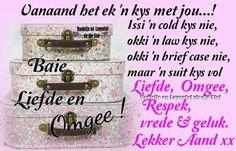Evening Greetings, Goeie Nag, Good Night Quotes, Afrikaans, Wees, Afrikaans Language
