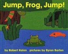Letter J = Jump. A cumulative tale in which a frog tries to catch a fly without getting caught itself.