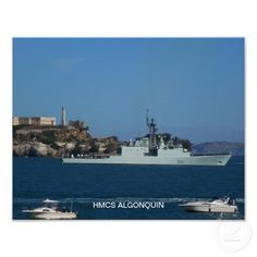 HMCS Algonquin Poster  HMCS Algonquin (DDG 283) is an Iroquois-class destroyer that has served the Canadian Forces since 1972.