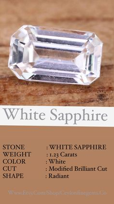 Ceylon Sapphire, Sapphire Stone, Natural Sapphire, White Sapphire, Loose Sapphires, Dream Ring, Gem S, Natural Gemstones