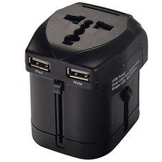 Mudder US UK EU AU Universal All In One International Travel Power Plug Adapter Charger (max1750w) With 2.5A dual USB charger for iPad 4, Mini, Air; iPhone 4S, 5S, 5C, 4; Samsung Galaxy Tab 2, 3; Galaxy Note 3, 2; Galaxy S5,S4, S3; HTC One etc. Mudder http://www.amazon.com/dp/B00KWRRE32/ref=cm_sw_r_pi_dp_1CCIub1B2QN1J