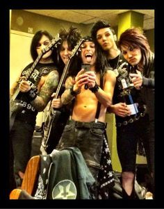 Black Veil Brides, This is the best selfie ever