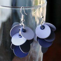 How to Make Cluster Earrings: 12 Ways #jewelry #tutorials