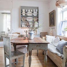 Så himla fint hemma hos ---> @jenny.k.karlsson  #inspiration #interior #inredning by inreda.mer