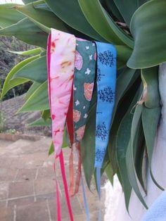 Girls hand painted silk obi belt