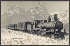 Cornovia_Postcards sells an item for until Monday, 8 June 2020 at BST in the Trains category on Delcampe Swiss Railways, Postcards For Sale, South Yorkshire, Advertising Photography, Steam Engine, Old Paper, Steam Locomotive, Vintage Greeting Cards, Rest Of The World