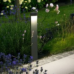 BEGA LED Garden and Pathway Bollard 7263/7264-idealightings
