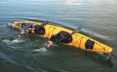 Rolling a tandem kayak is an essential skill before you head out on a long trip in a tandem kayak. Review The Best Tandem Kayaks: http://www.walleyebook.com/tackleshop/search.php?search=tandem+kayak