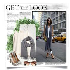 Blogger style./ white in the street